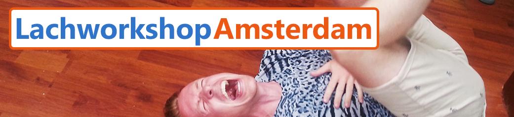 Lachen in Amsterdam teambuildingsdag